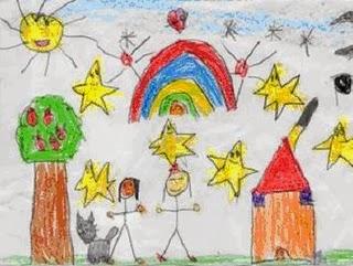dibujo-infantil-sol-estrellas